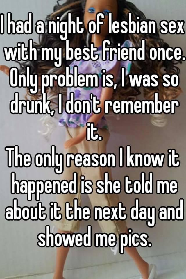 Lesbian sex with my friend