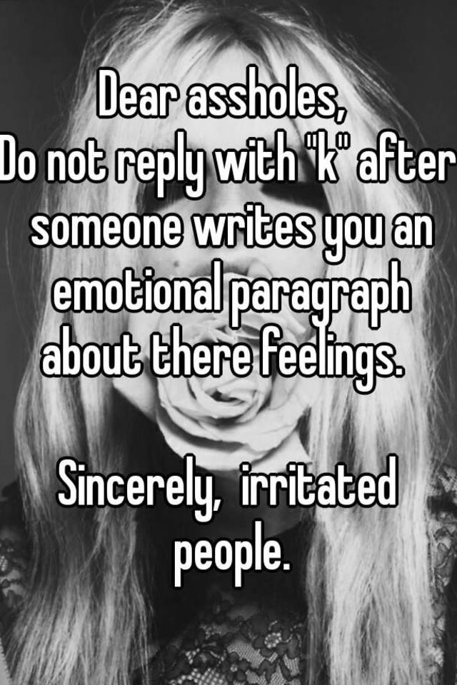 emotional paragraph