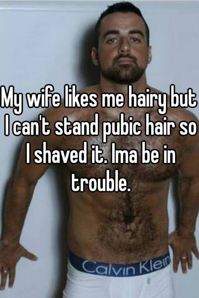 Hairy wife picture