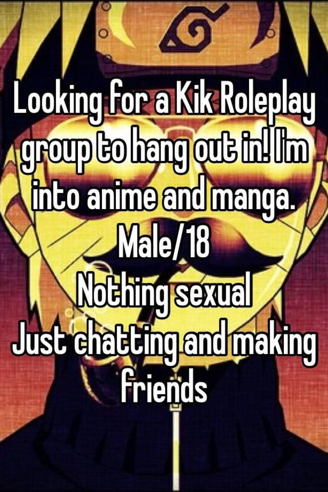 roleplay groups on kik