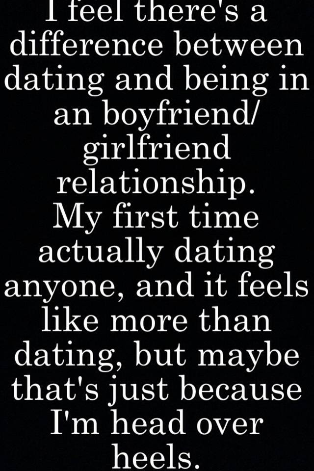 What Is The Difference Between Dating And A Girlfriend