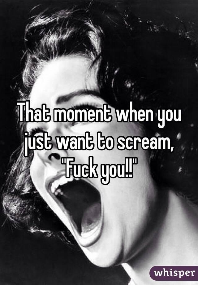 I scream scream scream sex we