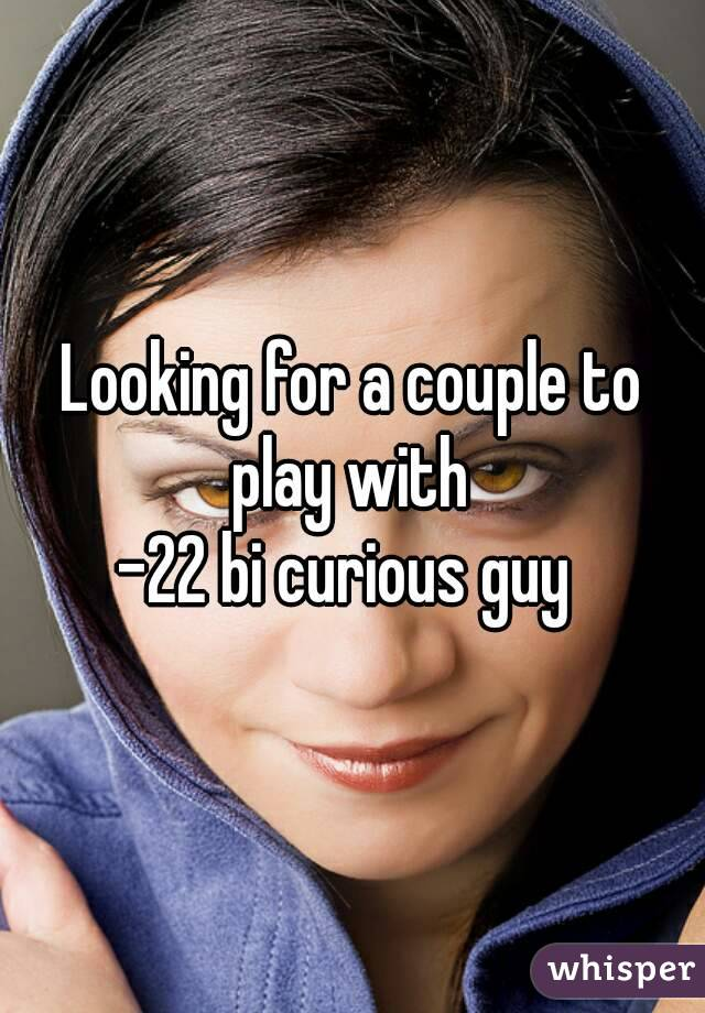 Couple looking for guy