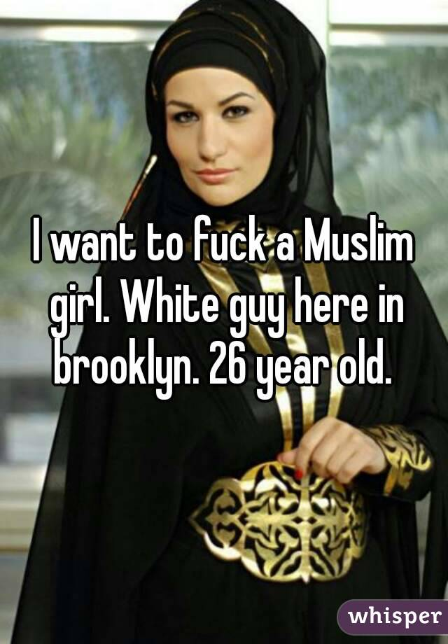 I want to fuck a white guy