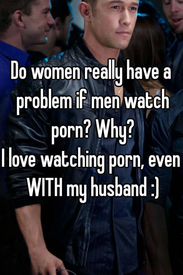 love watching porn