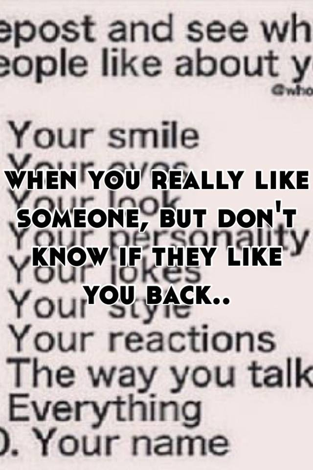 what to do if you like someone