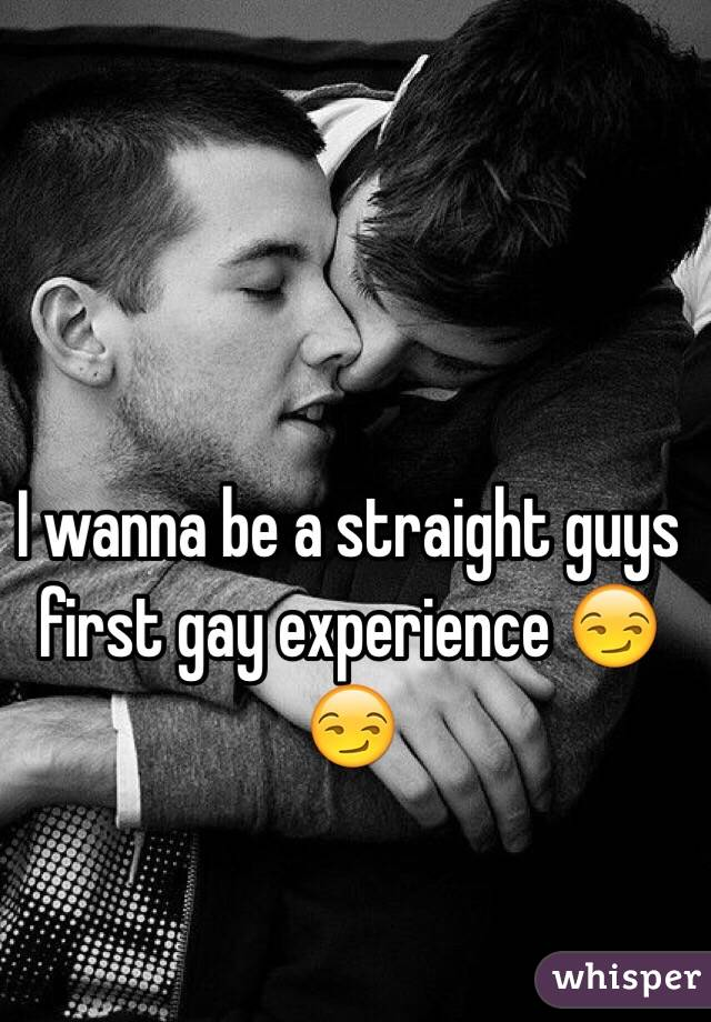 Straight guy invited to a gay experience