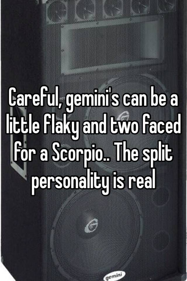 Flaky personality