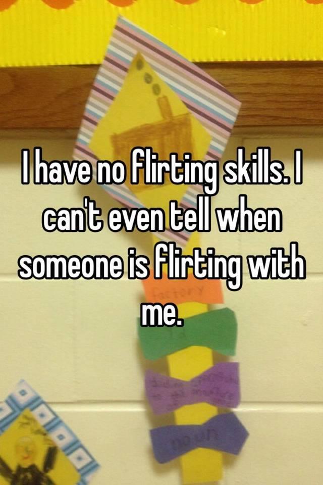 Flirting skills