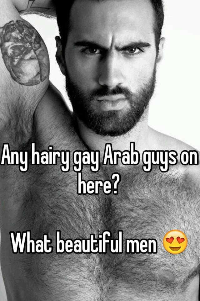 Arabian gay hairy