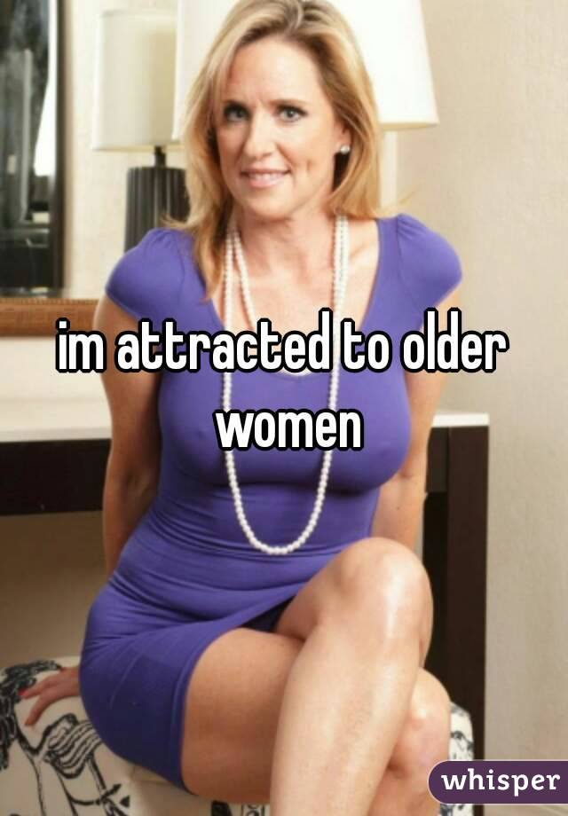 Attracted to an older woman