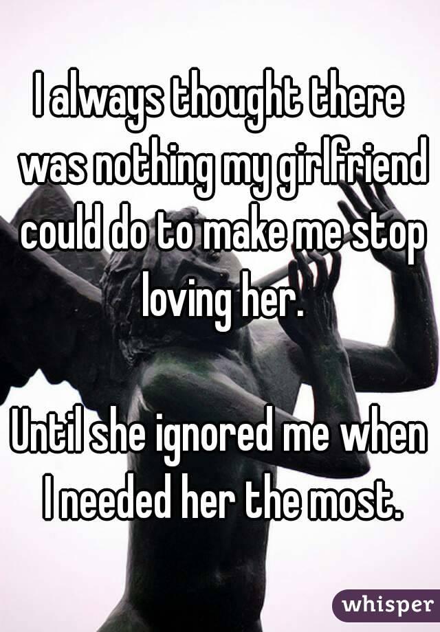 How to make my gf love me