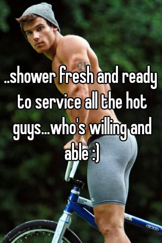 Hot Guys In Shower