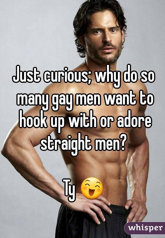 What do gay men want
