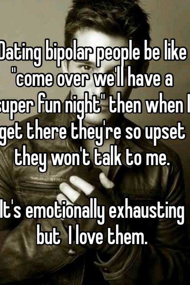 dating emotionally exhausting
