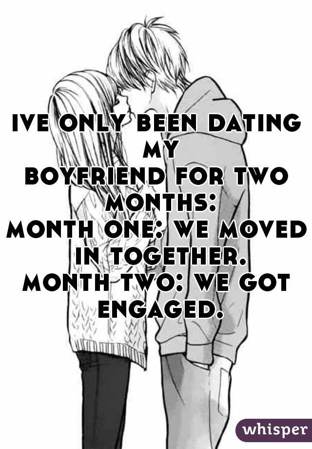 Engaged after 3 months of dating