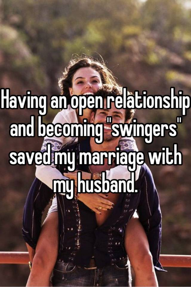how to start swinging in a marriage