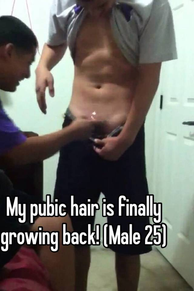 hair pubic Love male