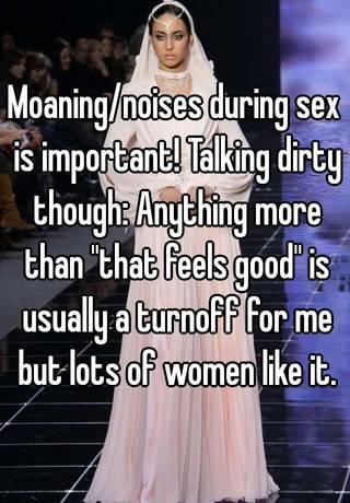 Women Talking Dirty During Sex