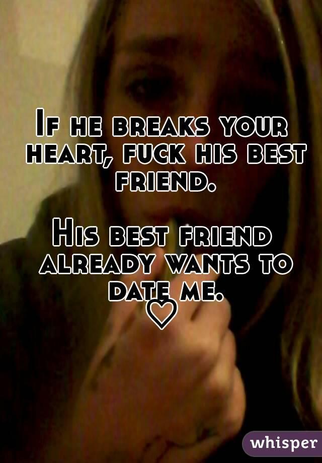 im dating his best friend