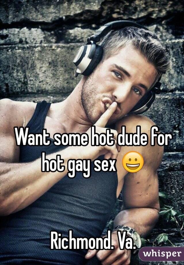 Want gay sex in richmond va