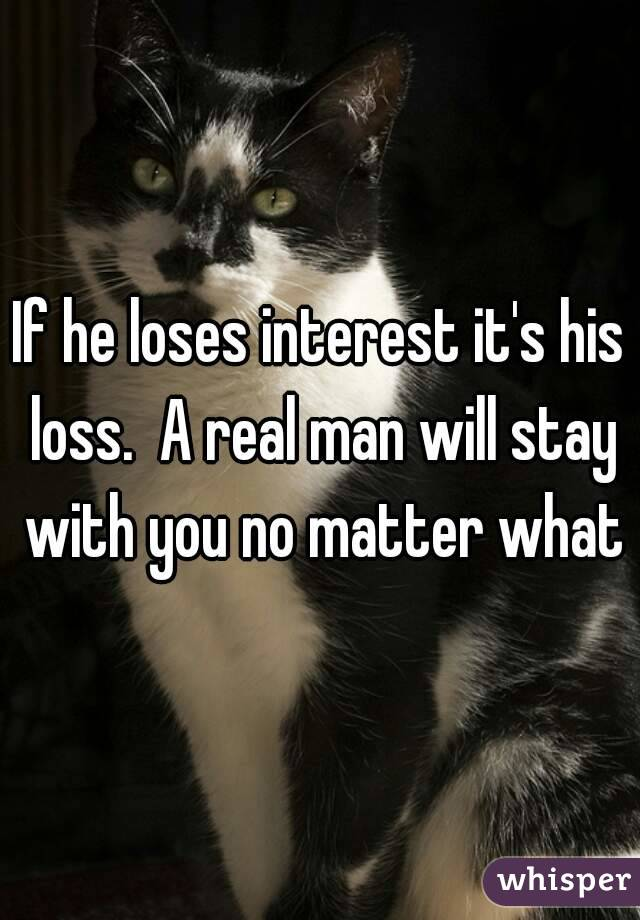 Do He To What Interest When Loses