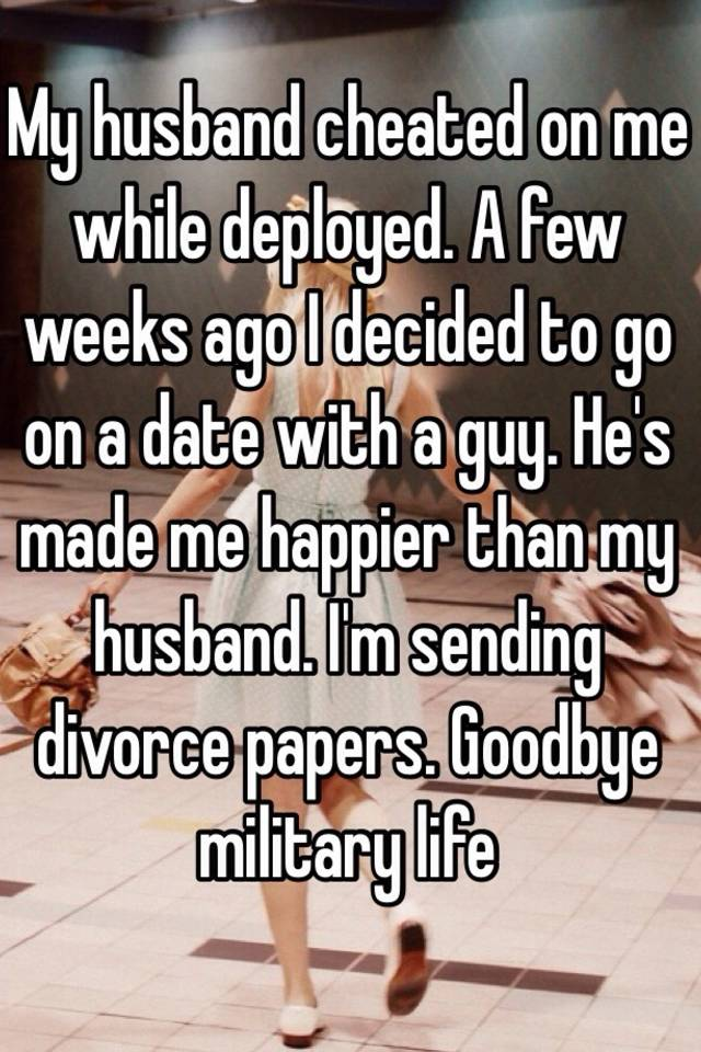 My husband cheated on me while we were dating