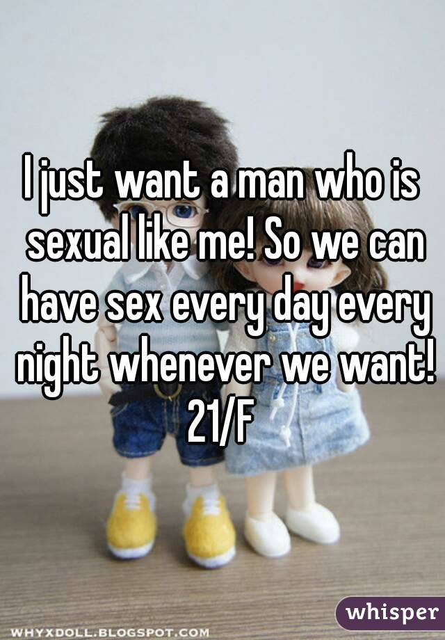 Can men have sex every day