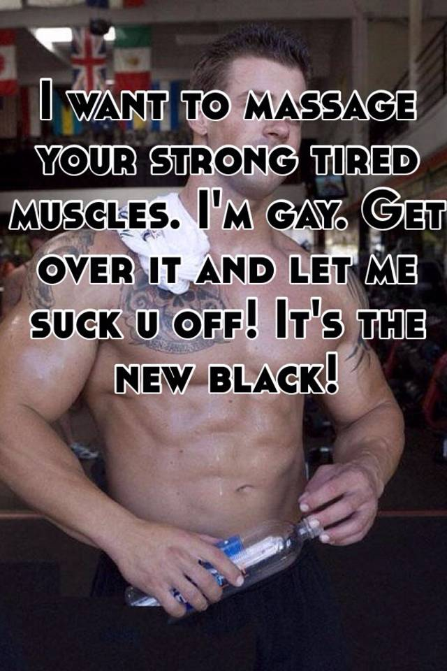 Gay muscular massage