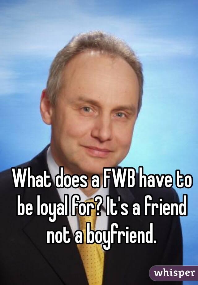 fwb definition