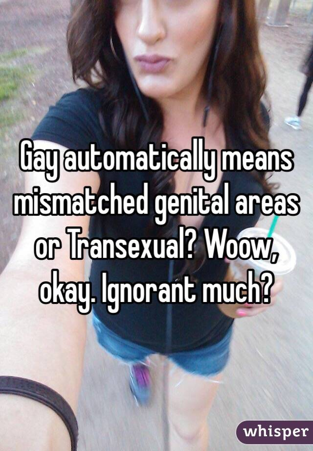 Gay transexuals