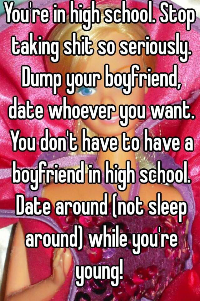 Sleeping around while dating