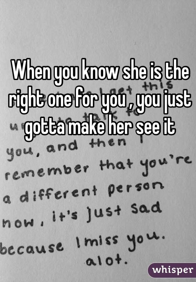 The How To Right One Shes Know If