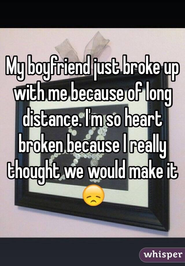 GENEVIEVE: Just broke up