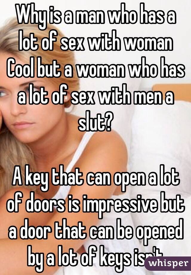 Why do men need sex alot