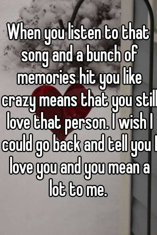Like crazy song