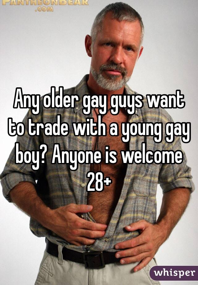 Older young gay