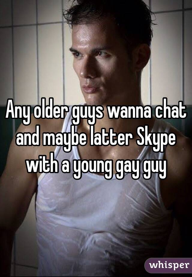 Gay older younger chat