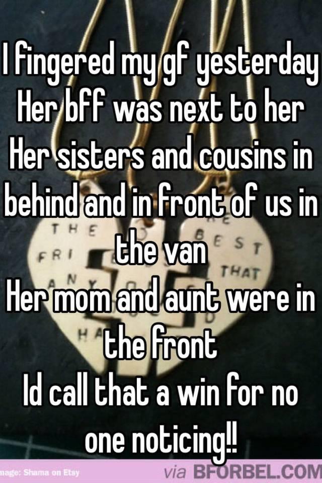 Fingered Sister I My#3