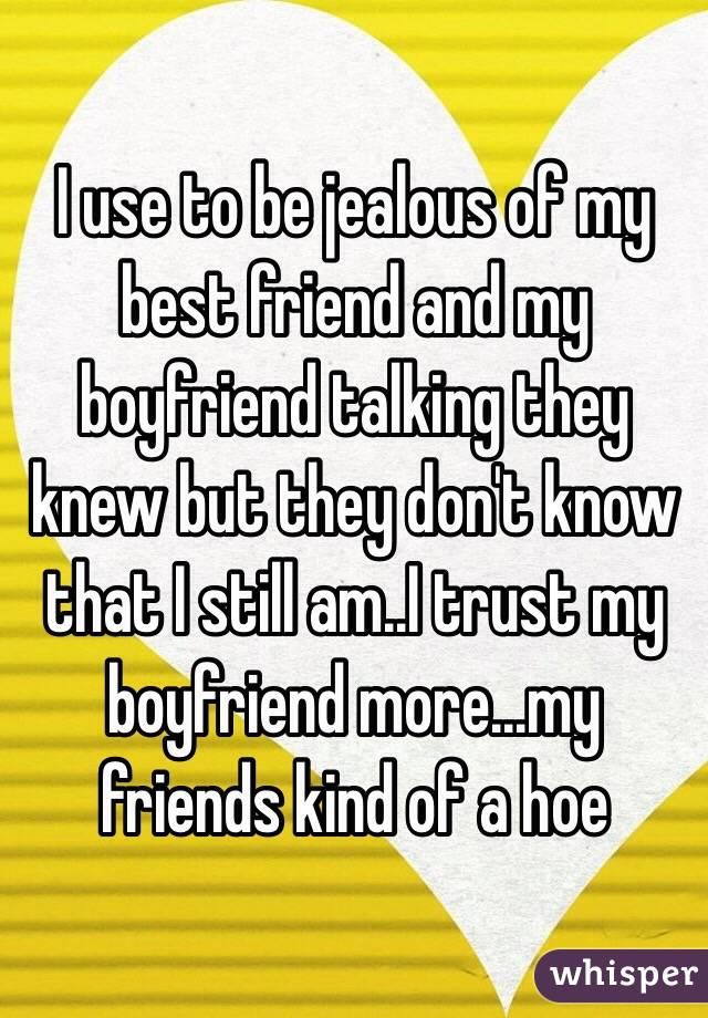 why is my boyfriend jealous