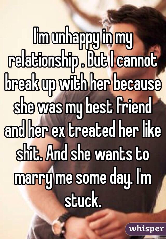 She wants to take a break in a relationship