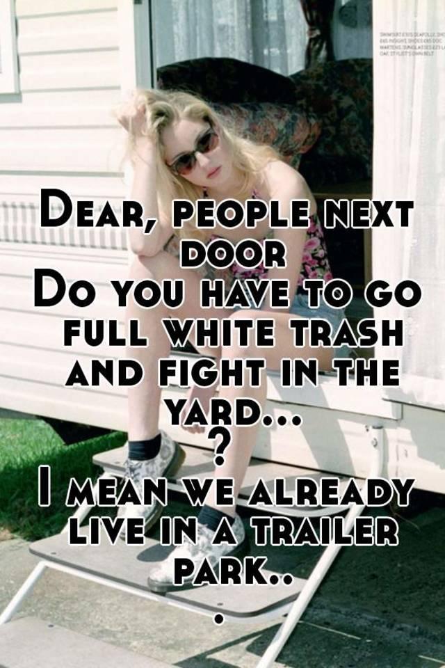 White Trash Girl Fights