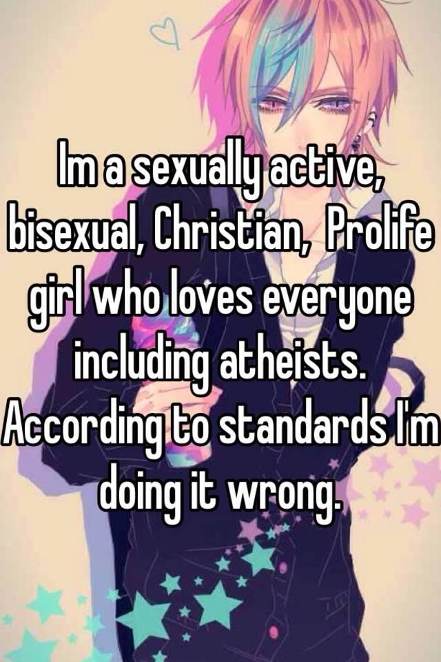 Bisexual christian
