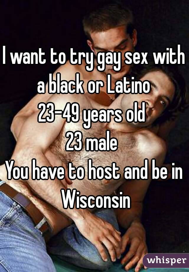 Want to have gay sex