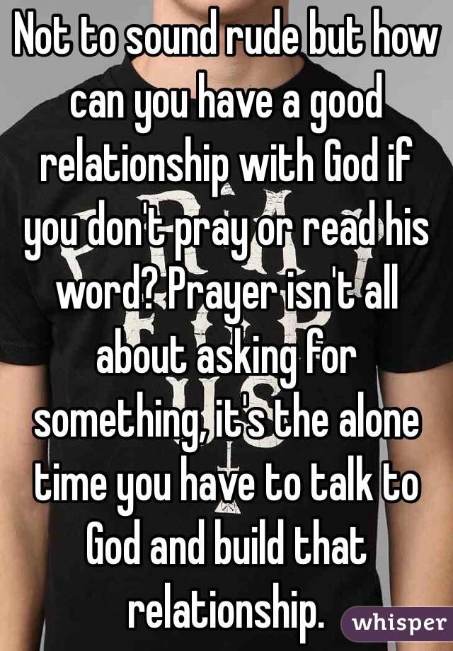 A prayer for a good relationship