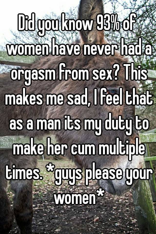 How to make her cum multiple times