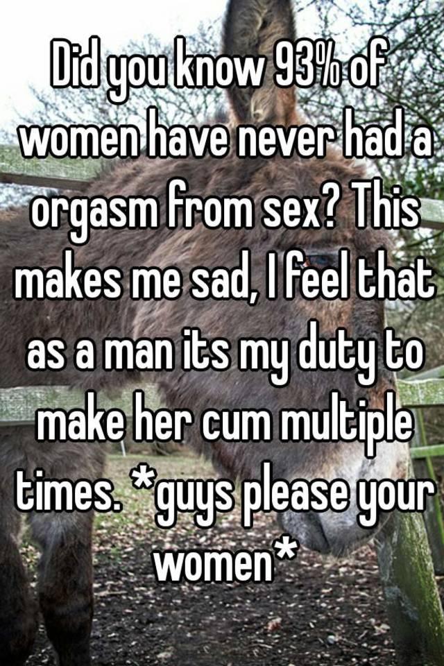 How do u know u had an orgasm