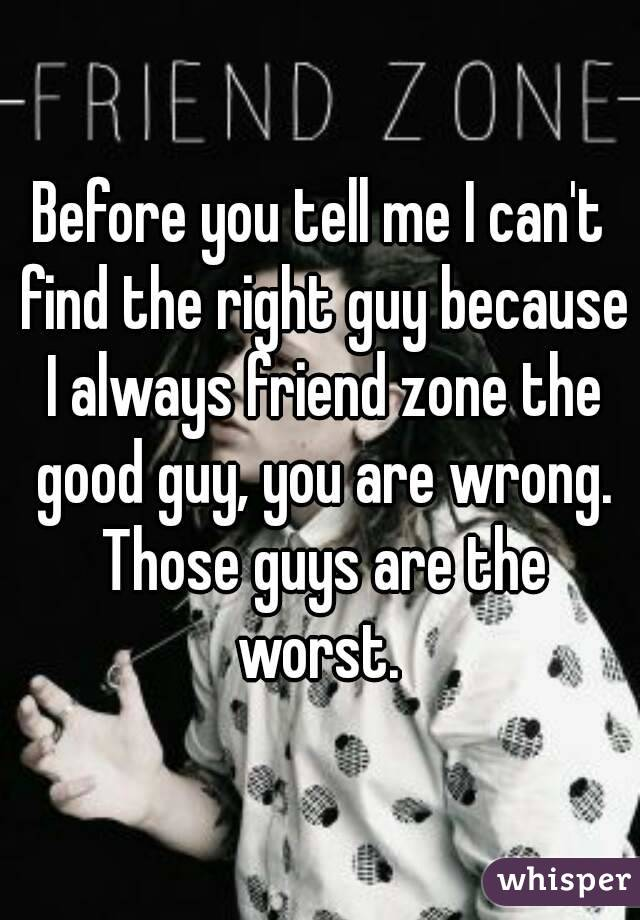 what is the right guy for me