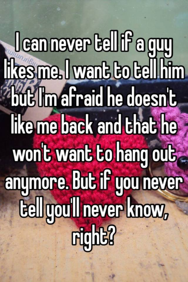 Signs He Is Into You But Afraid