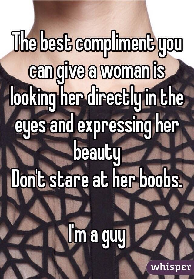 Compliment Her Beauty